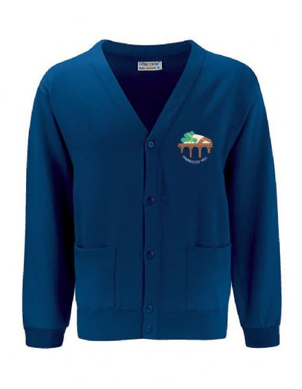 Harwood Hill Primary Royal Cardigan